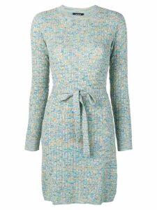 A.P.C. short knitted dress - Green