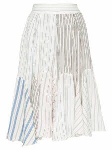 JW Anderson full asymmetric hem skirt - Pink