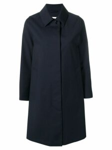Mackintosh Navy Wool Storm System Coat LM-020BS/SH - Blue