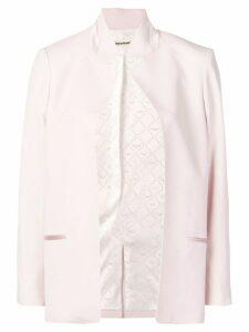Zadig & Voltaire open front blazer - Pink