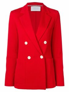 Harris Wharf London double breasted blazer jacket - Red