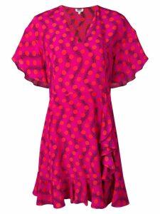 Kenzo Wave Polka dress - Pink