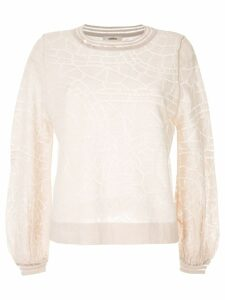 Onefifteen patterned jumper - Neutrals