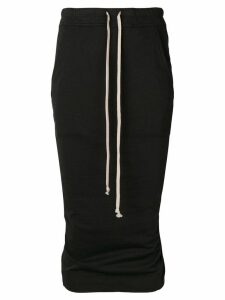 Rick Owens DRKSHDW high-waisted skirt - Black