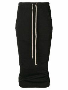 Rick Owens DRKSHDW high-waisted skirt - Black