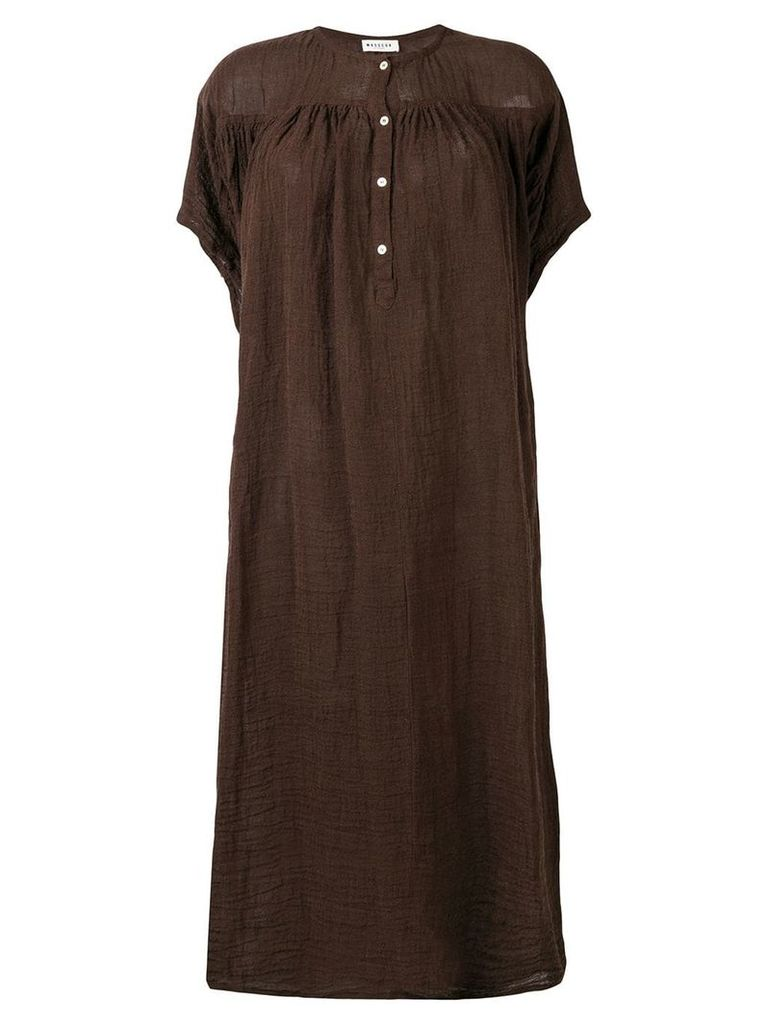 Masscob Holbox dress - Brown
