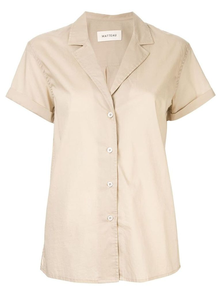 Matteau short sleeve shirt - Neutrals