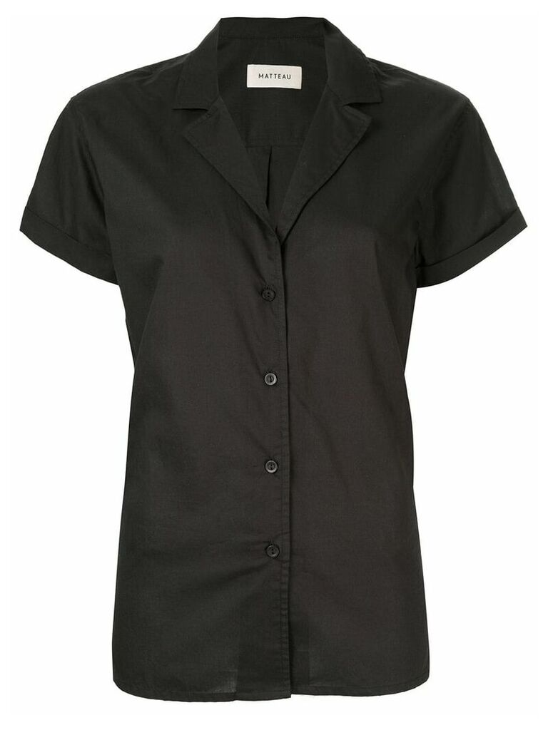 Matteau short sleeve shirt - Black