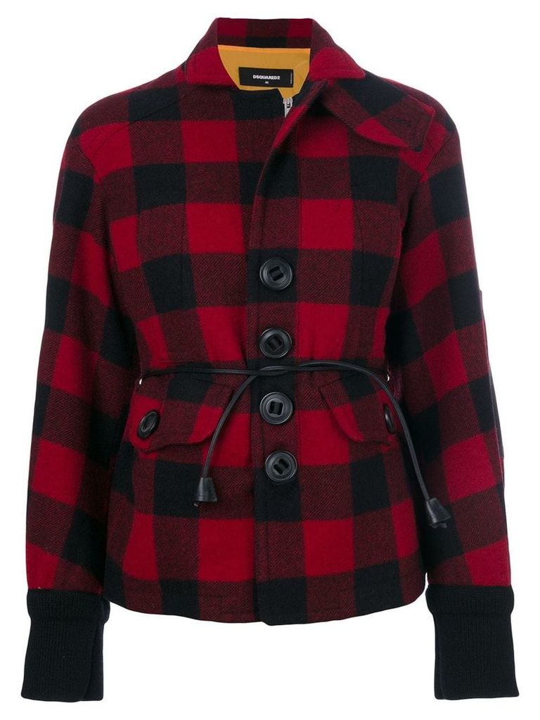 Dsquared2 tartan jacket - Black