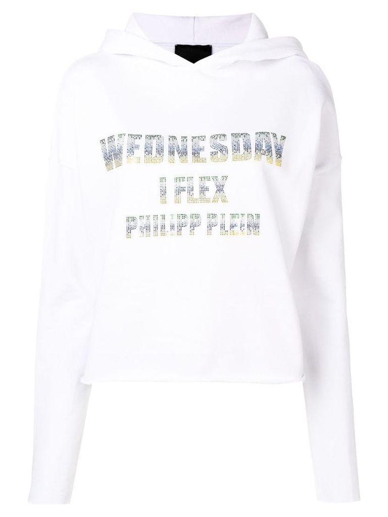 Philipp Plein Wednesday hoodie - White
