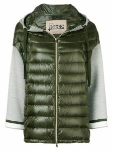 Herno hooded puffer jacket - Green
