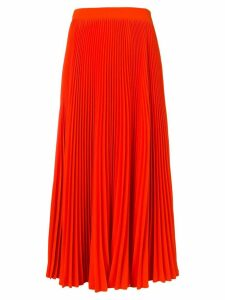 MSGM long pleated skirt - Pink