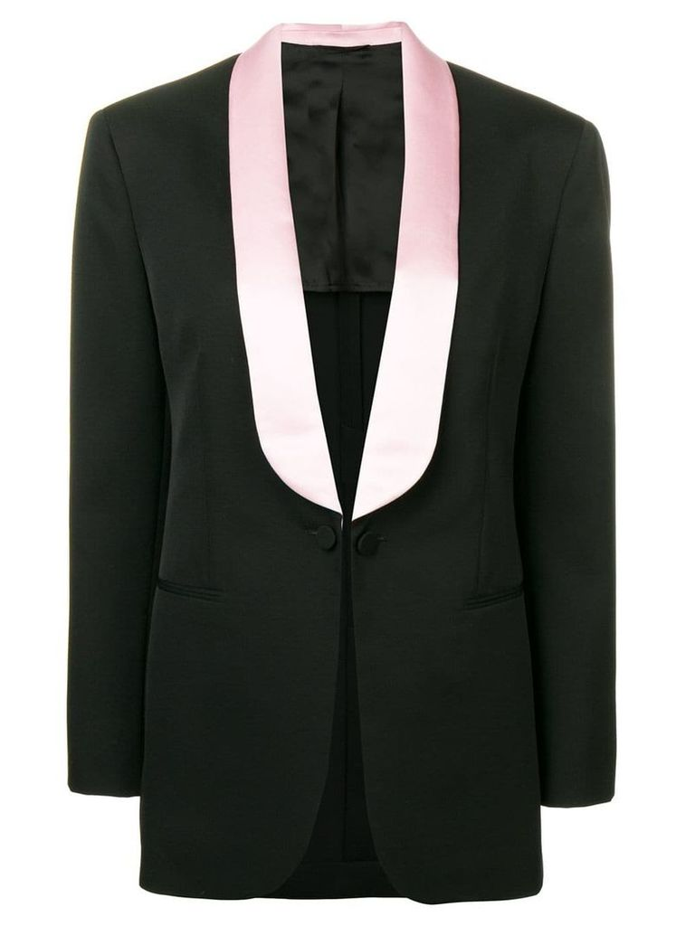 Calvin Klein 205W39nyc tailored blazer - Black