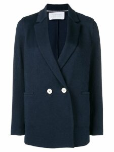 Harris Wharf London classic double-breasted blazer - Blue
