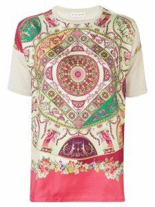 Etro printed T-shirt - Pink