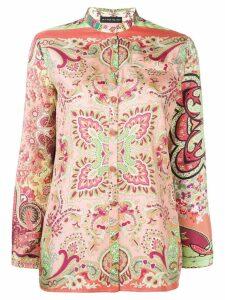 Etro floral paisley shirt - Pink