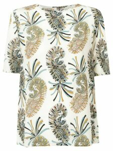 Etro Afro-paisley printed blouse - Neutrals