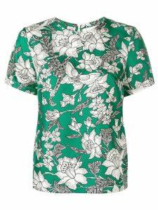 La Doublej floral print T-shirt - Green