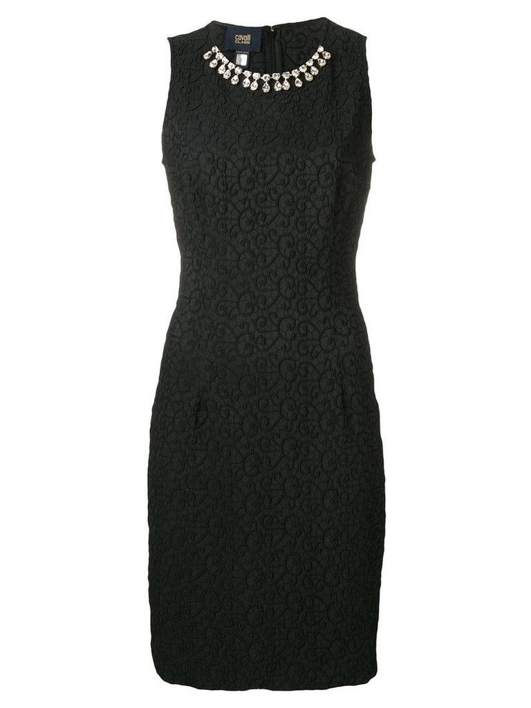 Cavalli Class embellished midi dress - Black