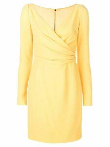 Dolce & Gabbana fitted mini dress - Yellow