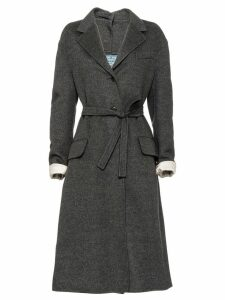 Prada Double cashgora coat - Grey
