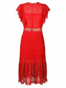 Philosophy Di Lorenzo Serafini embroidered style midi dress