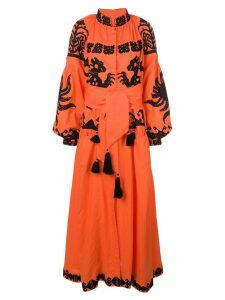 Yuliya Magdych Queen Of The Sun dress - Orange