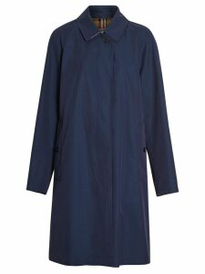 Burberry The Camden Car Coat - Blue