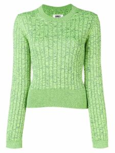 Mm6 Maison Margiela slim-fit pullover - Green