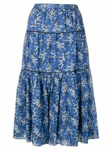 Ulla Johnson Auveline printed skirt - Blue