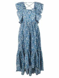 Ulla Johnson Freida printed dress - Blue