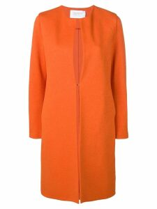 Harris Wharf London single-breasted coat - Orange