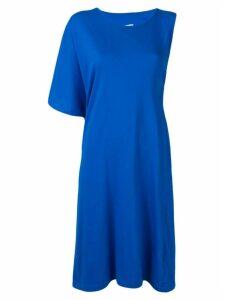 Mm6 Maison Margiela oversized asymmetric dress - Blue