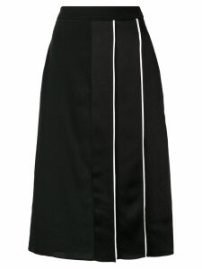 Givenchy panelled midi skirt - Black