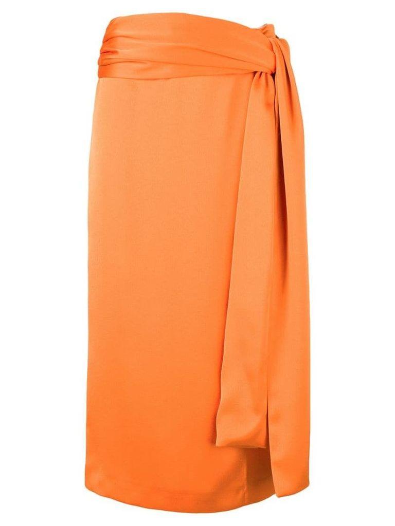 Brognano high-waisted skirt - Orange