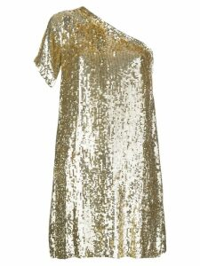P.A.R.O.S.H. sequin party dress - Gold