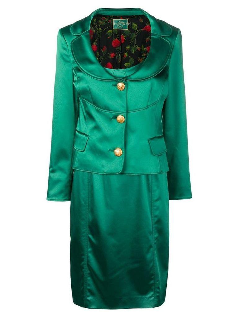 Dolce & Gabbana Vintage blazer and dress set - Green