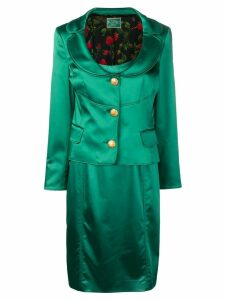 Dolce & Gabbana Pre-Owned blazer and dress set - Green