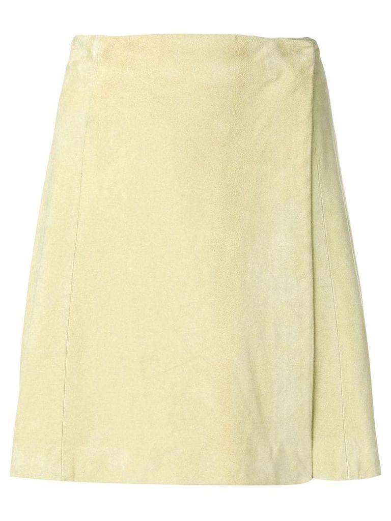 Krizia Vintage side fastening skirt - Green