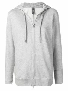 Adidas By Stella Mccartney relaxed fit hoodie - Grey
