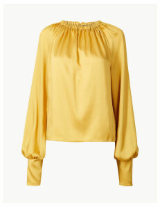 M&S Collection Blouson Sleeve Blouse