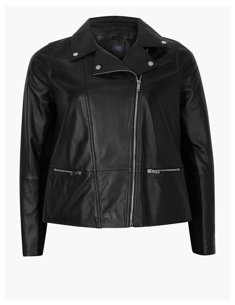 M&S Collection CURVE Biker Jacket