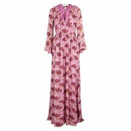 Giambattista Valli Floral-print Silk Chiffon Maxi Dress