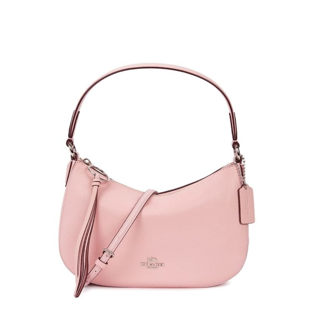 Coach Sutton Pink Leather Top Handle Bag
