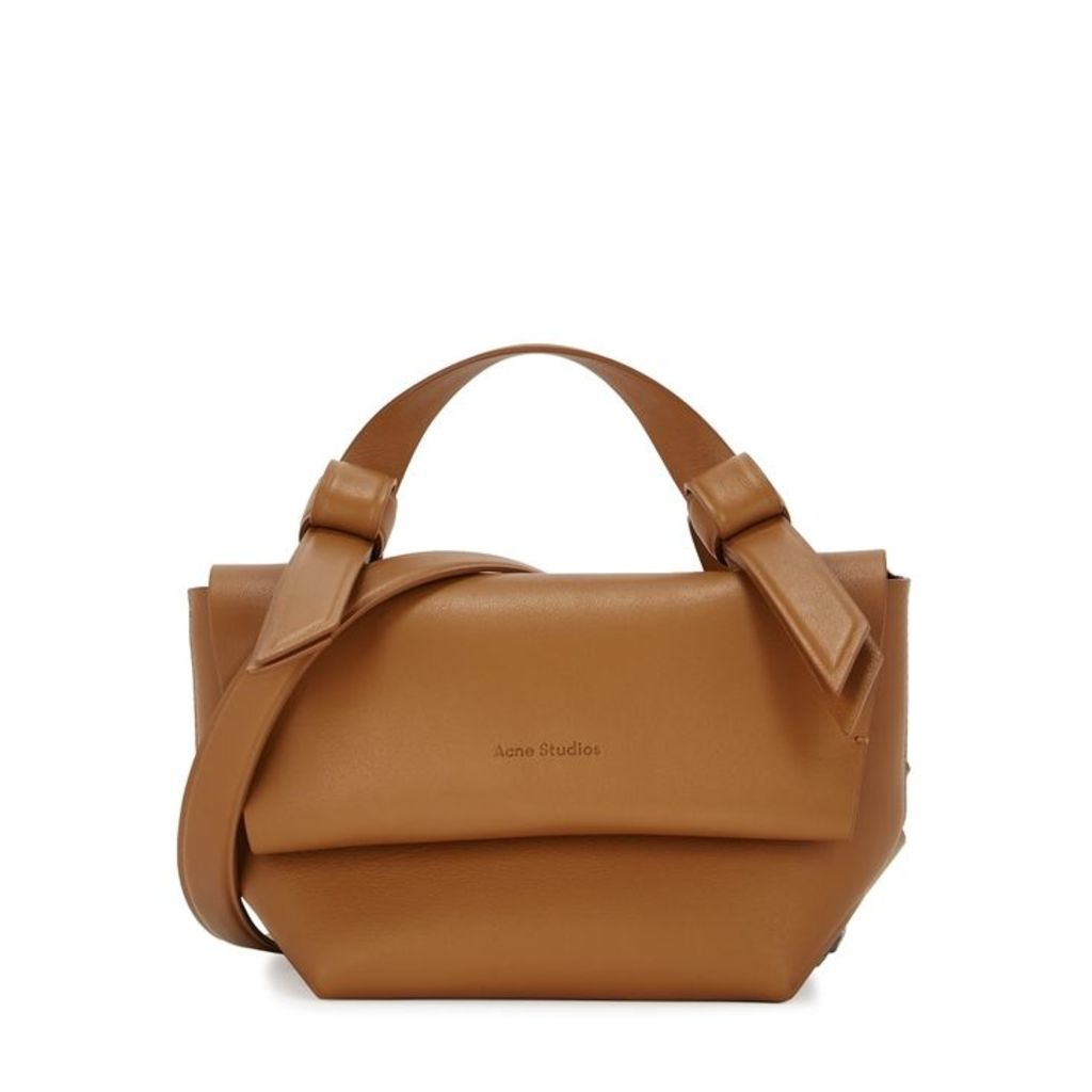 Acne Studios Musubi Milli Tan Leather Cross-body Bag