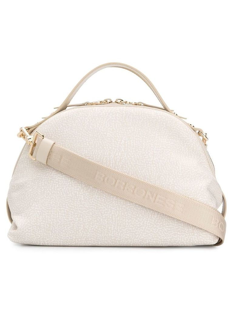 Borbonese Sexy top handle bag - Neutrals