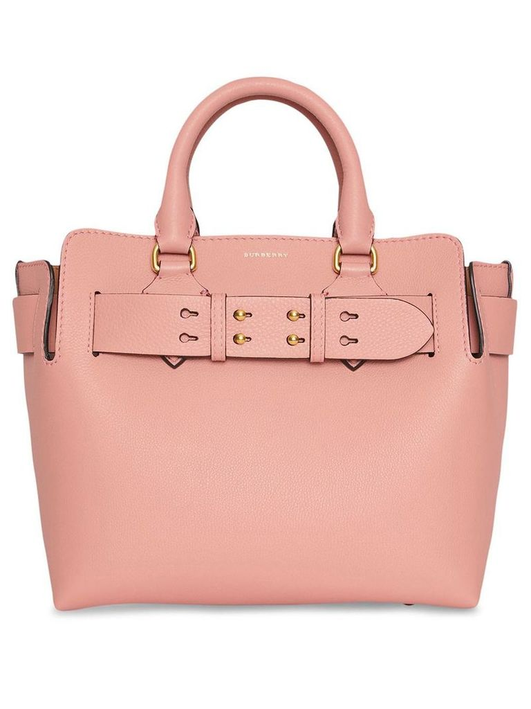 Burberry The Small Leather Belt Bag - Ash Rose