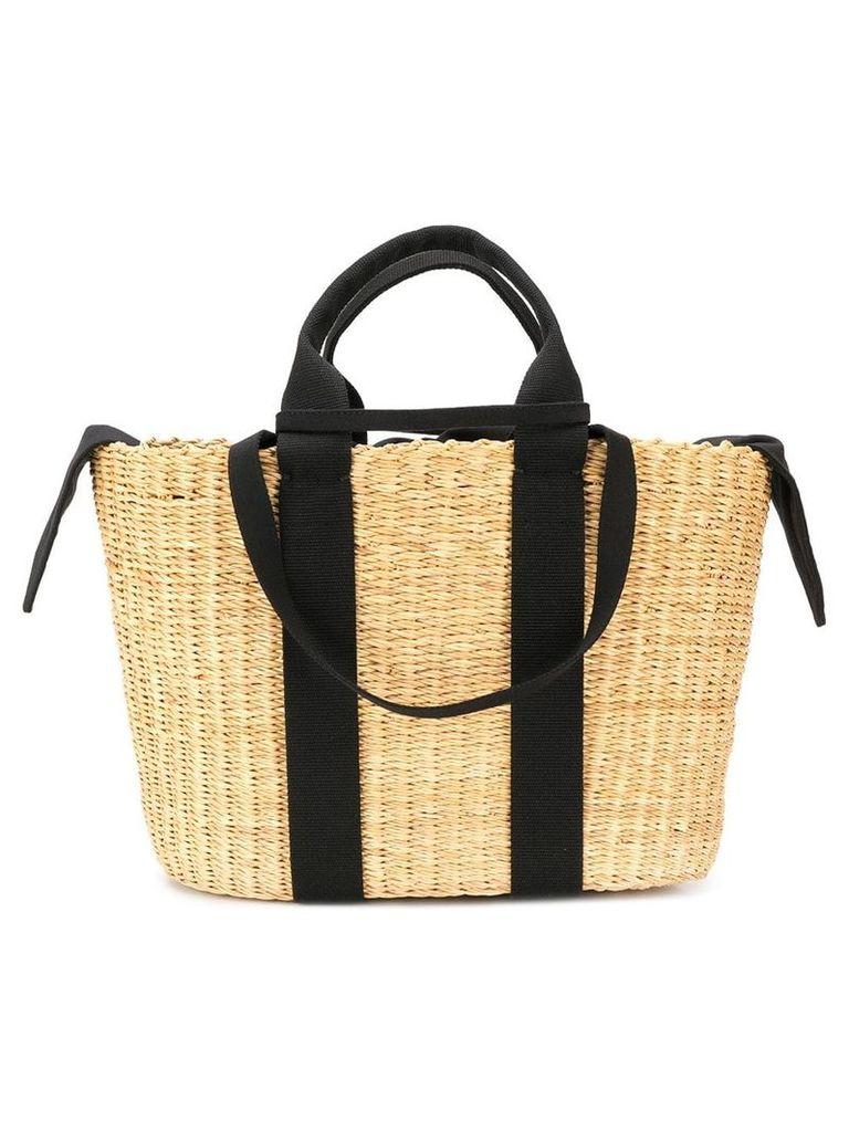 Muun woven bucket bag - Brown