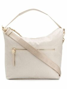 Borbonese Opla' top handle bag - Neutrals