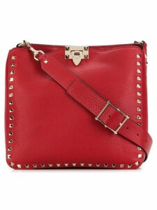 Valentino Valentino Garavai Rockstud shoulder bag - Red